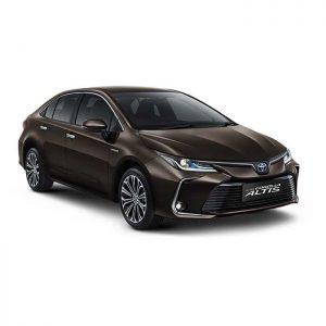 Sewa Toyota Altis
