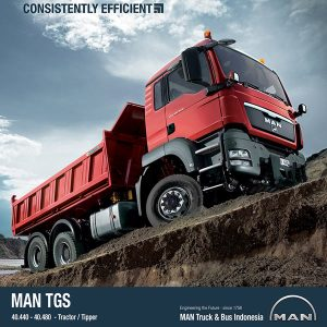 MAN TGS 40.440 6×6 Tipper