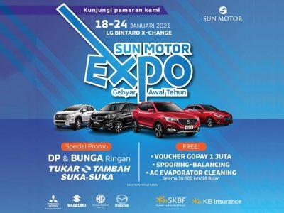 Sun Motor Expo Boyong Mitsubishi, Mazda, Suzuki & MG Motor