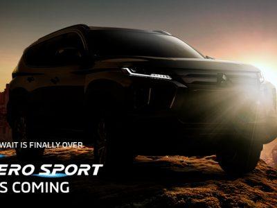 Resmi, Pajero Sport Facelift Meluncur Besok 16 Februari 2021