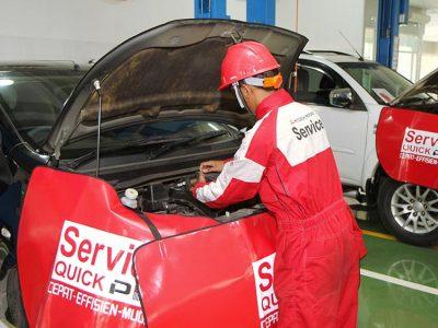 Bengkel Resmi Mitsubishi Motors Siap Layani Uji Emisi