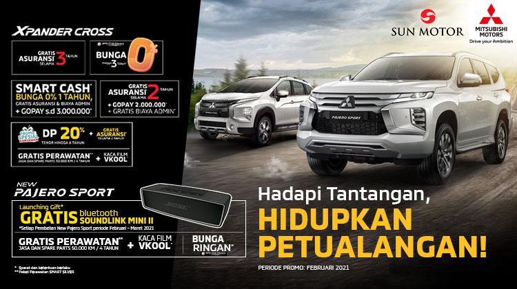 Harga, DP, Spesifikasi dan Promo Pajero Sport Facelift 2021