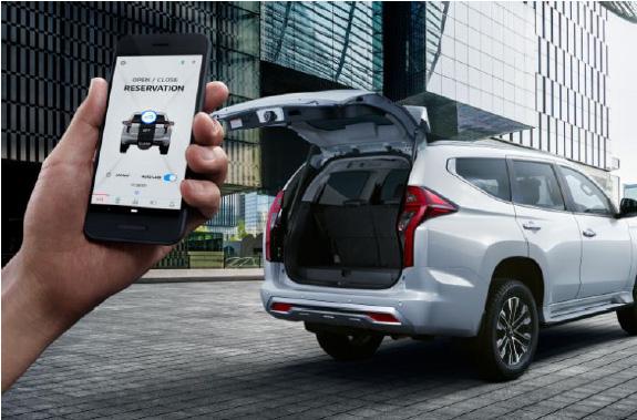 Kecanggihan Teknologi Remote Control Mitsubishi New Pajero Sport