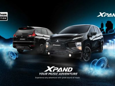 Lebih Garang! Mitsubishi Rilis Xpander Rockford Fosgate Black Edition