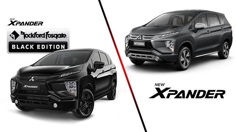 Perbandingan Lengkap Xpander Rockford Fosgate vs Xpander Biasa