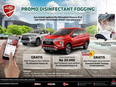 Mitsubishi Beri Fogging Disinfektan Gratis Untuk Konsumen